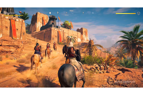 Assassin's Creed Origins Gameplay [Xbox One X 4K] - YouTube