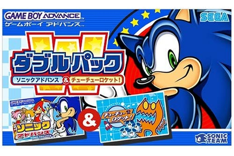 Double Pack: Sonic Advance & Chu Chu Rocket - Game Boy ...