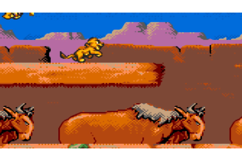 Le Roi Lion [ Lion King ] HD (720p) - Game Gear - YouTube