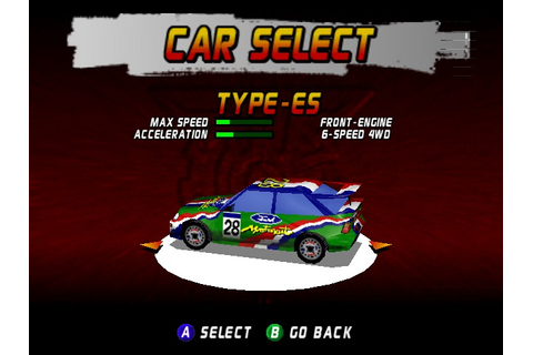 Play Top Gear Rally Online N64 Game Rom - Nintendo 64 ...