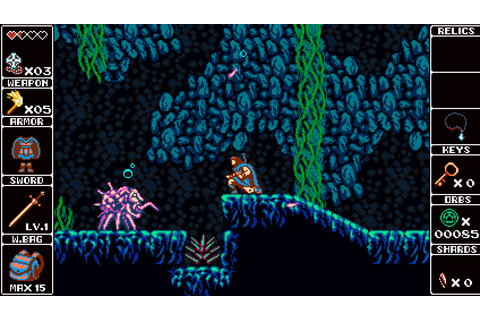 Odallus: The Dark Call Bringing Back 8-Bit Exploration ...