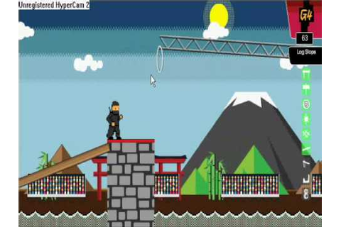 Ninja Warrior Game Stage 1 - YouTube