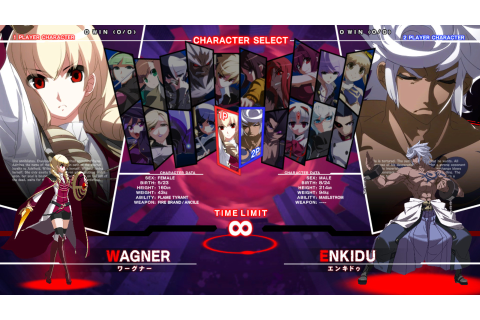 UNDER NIGHT IN-BIRTH Exe:Late[st] on Steam