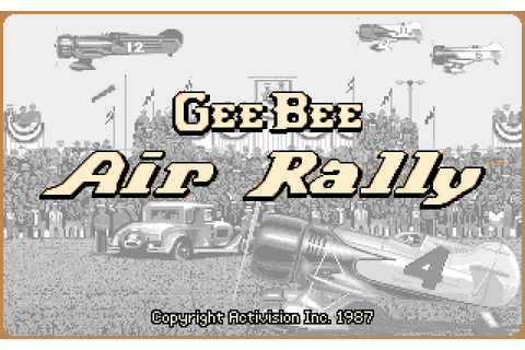 Gee Bee Air Rally Details - LaunchBox Games Database