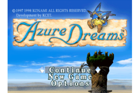 Play Azure Dreams Sony PlayStation online | Play retro ...