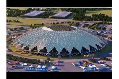 FIFA World Cup 2018 Stadiums - YouTube