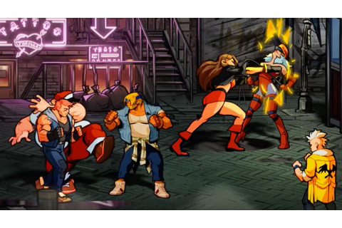 Streets of Rage 4 is bringing back classic Sega brawling ...