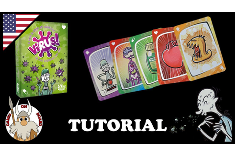 How to play Virus!, Tutorial (ENGLISH) Board Game -Games ...