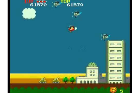 Sky Kid Deluxe (ARCADE) - YouTube