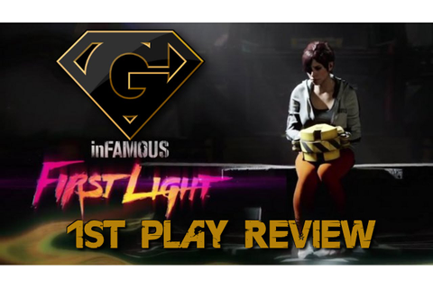 Infamous First Light - Free PSN Game - A Short Review ...
