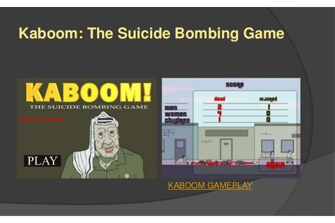 Kaboom: The Suicide Bombing Game on Qwant Games