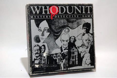 Whodunit Mystery Detective Game from Selchow and Righter 1985