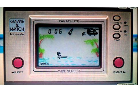 LCD Games: Parachute Nintendo Game & Watch - YouTube