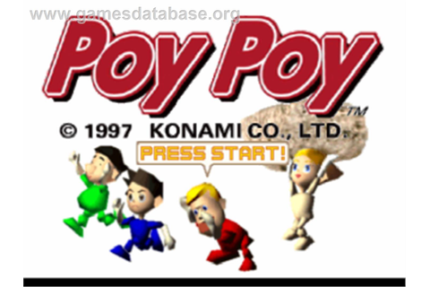 Poy Poy - Sony Playstation - Games Database