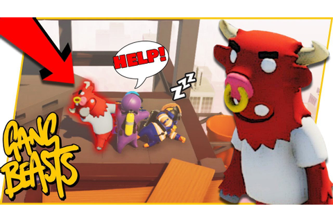 The Most OVERPOWERED Character In The Game! - Gang Beasts ...