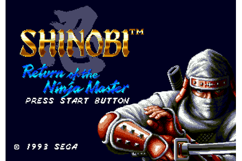 Game: Shinobi III: Return of the Ninja Master [Sega ...