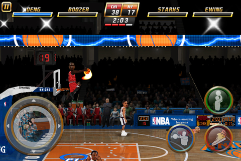 NBA Jam updated with current roster; Legendary Wars adds ...