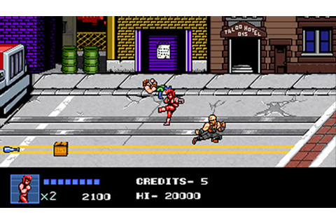 Double Dragon IV PC PS4 | The Games Machine