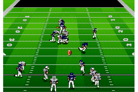Bill Walsh College Football 95 | скачать игры SEGA на ...