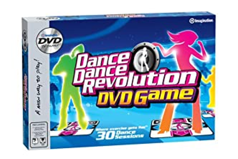 Amazon.com: Dance Dance Revolution DVD Game: Toys & Games