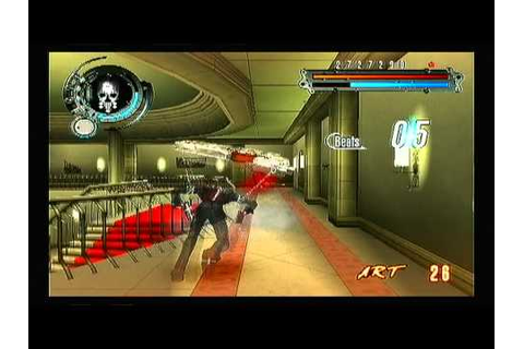 Gungrave Overdose (Ps2) - gameplay - YouTube