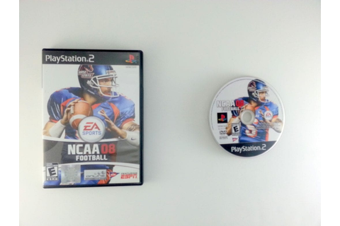 NCAA Football 08 game for Playstation 2 | The Game Guy