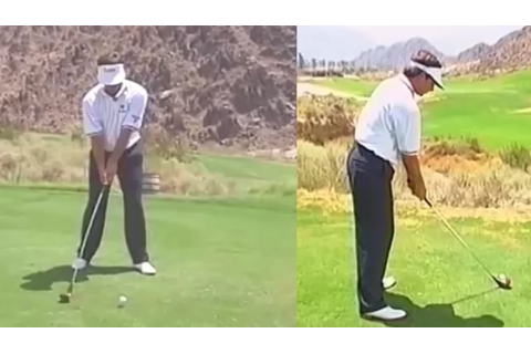 Fred Couples Swing 1990s: Swing Analysis - YouTube