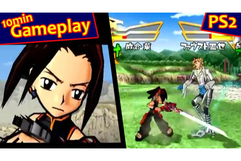 Shaman King: Funbari Spirits ... (PS2) - YouTube