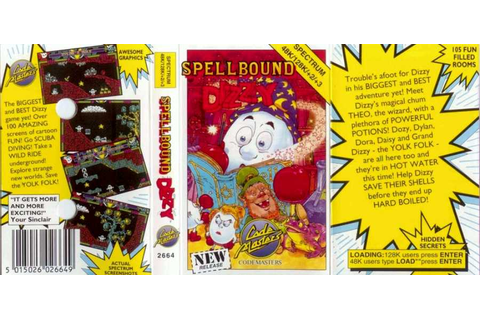 Dizzy: Spellbound Dizzy | Top 80's Games