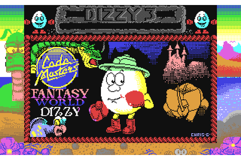 Fantasy World Dizzy (1990) C64 game