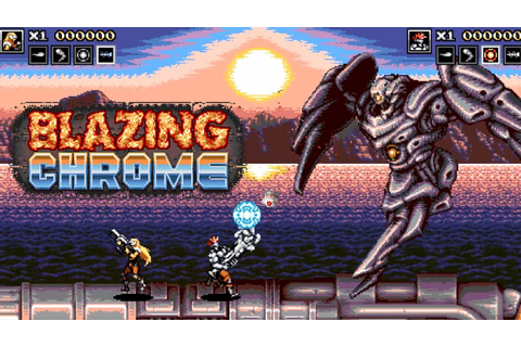 Blazing Chrome - Official Gameplay Trailer - YouTube