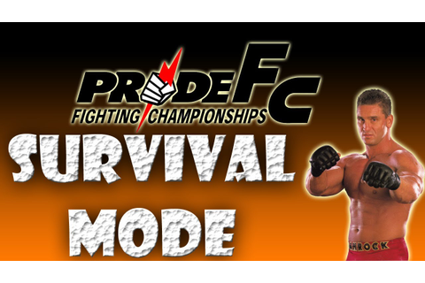 Pride FC Fighting Championships Gameplay (Road To UFC 3 ...