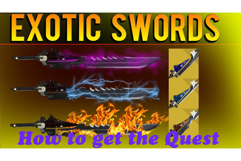 How to get the Exotic Sword Quest (Destiny The Taken King ...