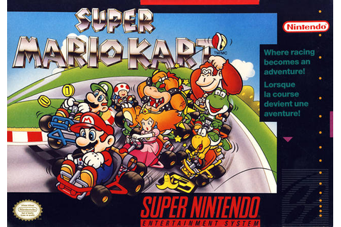 Super Mario Kart Super Nintendo Racing Game | Original and ...