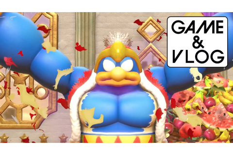 Kirby: Star Allies Direct Feed Gameplay - VS King Dedede ...