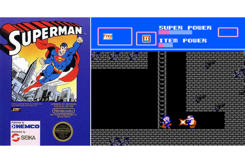 Play Superman on NES