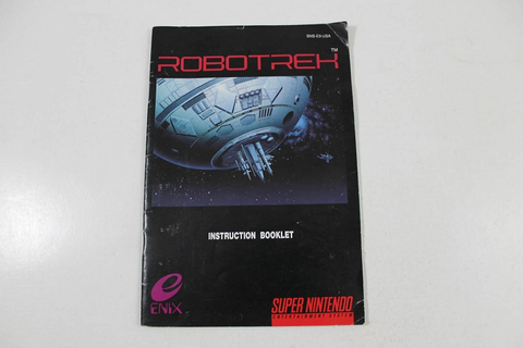 Manual - Robotrek - Snes Super Nintendo