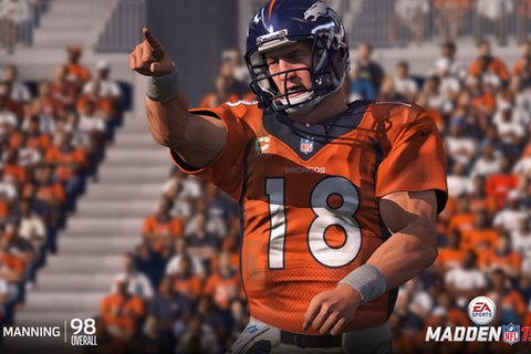 Broncos' Peyton Manning the top-rated QB in Madden NFL 15 ...