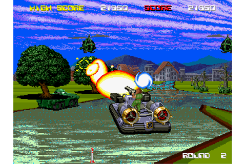 Aqua Jack (1990) by Taito Arcade game
