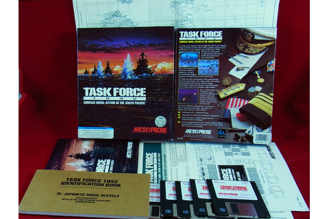 PC DOS: Task Force 1942 - Microprose 1992 | eBay