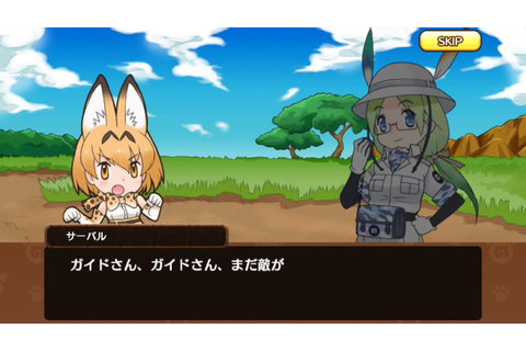 Kemono Friends Story Recollection: Tutorial Story - YouTube