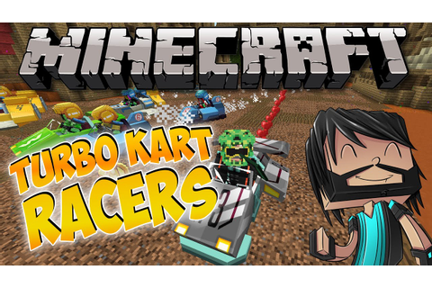 Minecraft : Turbo Kart Racers Minigame - Heart Trail ...
