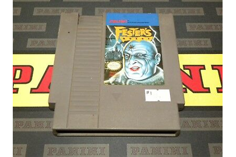 Fester's Quest Original Nintendo NES Video Game | eBay