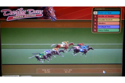 Derby Day, horse racing on arcade game. - YouTube