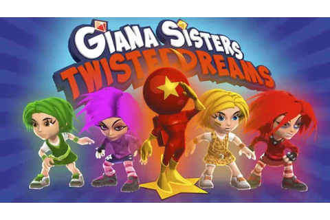 Giana Sisters: Twisted Dreams - Dream Rush Update - YouTube