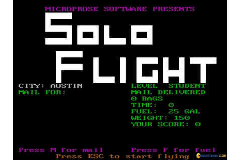 Solo Flight download PC
