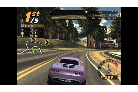 Gameplay - Need For Speed Hot Pursuit 2 [PS2] - YouTube