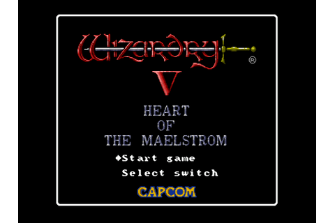 Wizardry 5: Heart of the Maelstrom Download Game ...