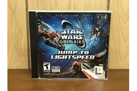 Star Wars Galaxies: Jump To Lightspeed - Expansion One ...