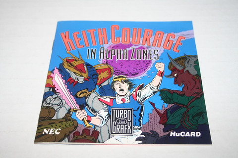 TurboGrafx 16: Keith Courage in Alpha Zones - Parry Game ...